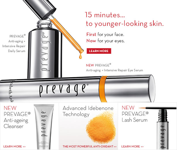 Prevage Anti-aging Intensive Repair Daily Serum, Anti-aging Treatment Boosting Cleanser, Idebenone, Clinical Lash Brow Enhancing Serum