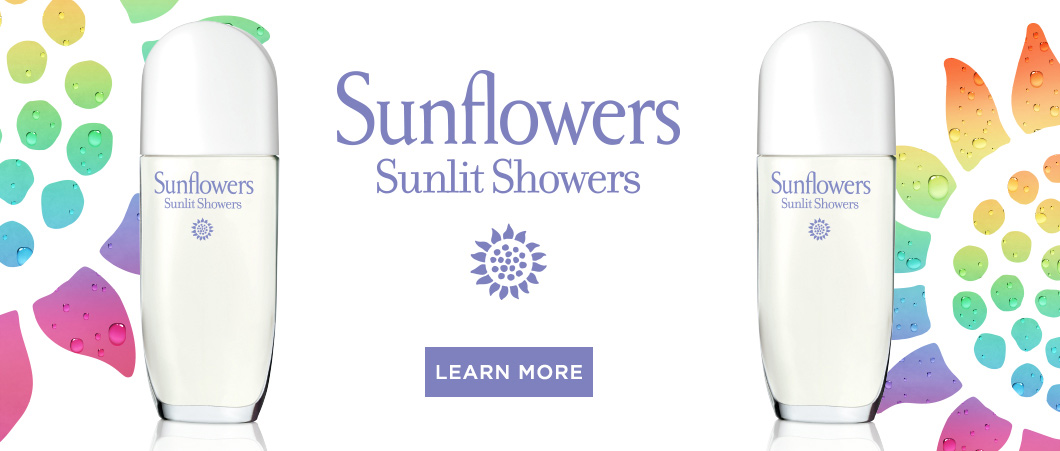 Sunflowers Sunlit Showers - Elizabeth Arden South Africa Perfume and Fragrances
