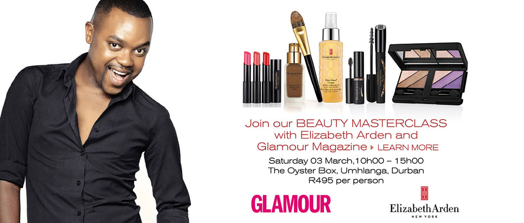 Elizabeth Arden and Glamour Event - March 2018 THE ULTIMATE BEAUTY MASTERCLASS with Elizabeth Arden\'s Celebrity National Makeup Artist Lucoh Mhlongo