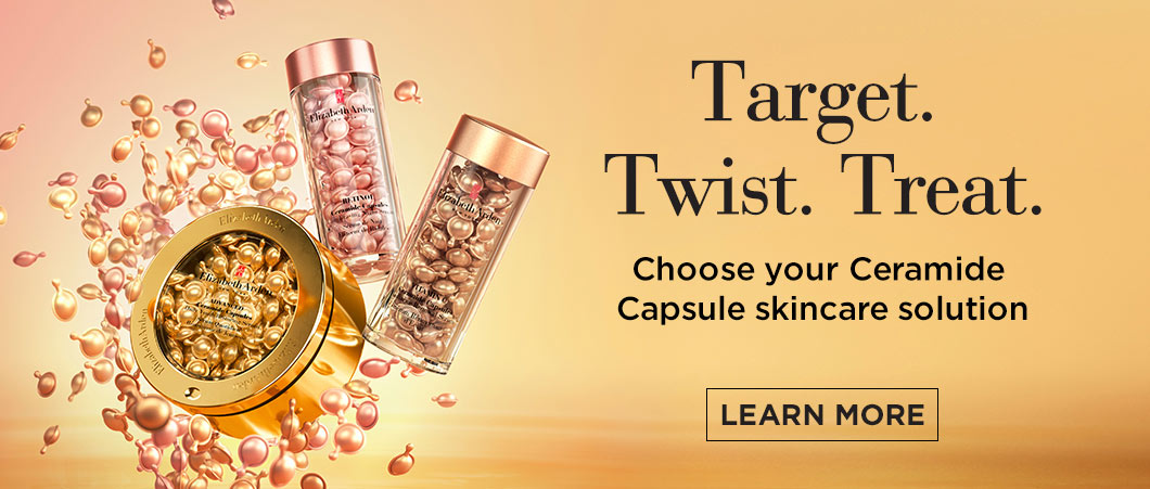 Target Twist Treat with Vitamin C Ceramide Capsules - Elizabeth Arden South Africa Skincare