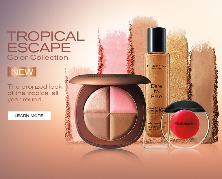 Elizabeth Arden South Africa : Makeup & Beauty : Tropical Escape Colour Collection